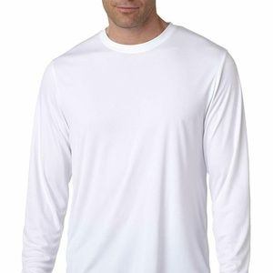 Hanes Men's Long Sleeve Cool Dri T-Shirt UPF 50+,